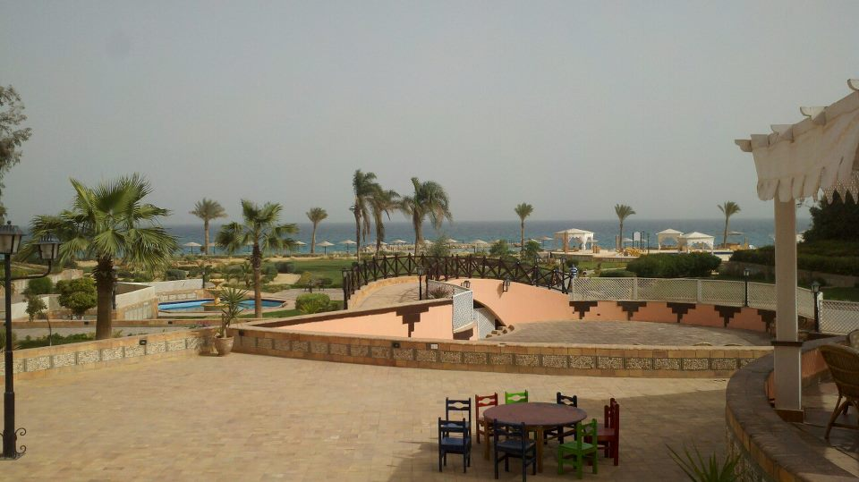 Her most relaxing weekend: the beach at Ain Sokhna and visiting the Monastary of St.Anthony, the oldest in the world.