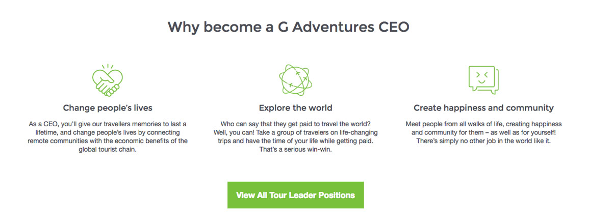 C11 Why Become G Adventures CEO