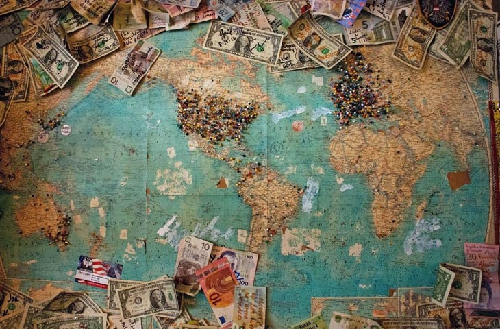 Conventional bank transfers for travelers