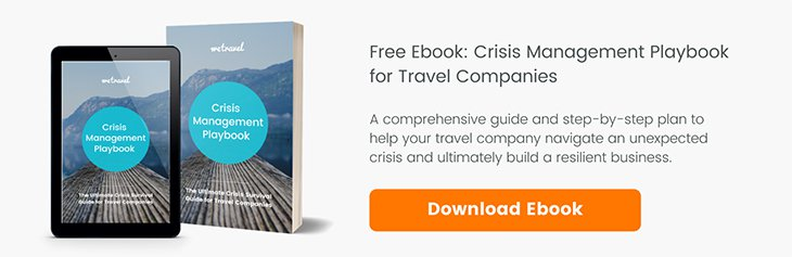 Crisis Management Playbook for Travel Companies