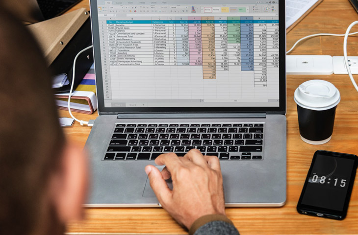 Excel templates for travel business