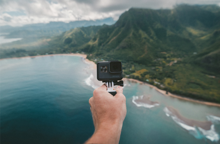 Go Pro for user generated content