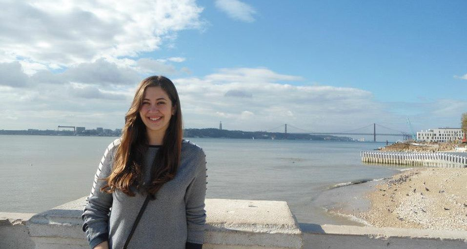 She took full advantage of her chance to be immersed in other countries. (Lisbon, Portugal)