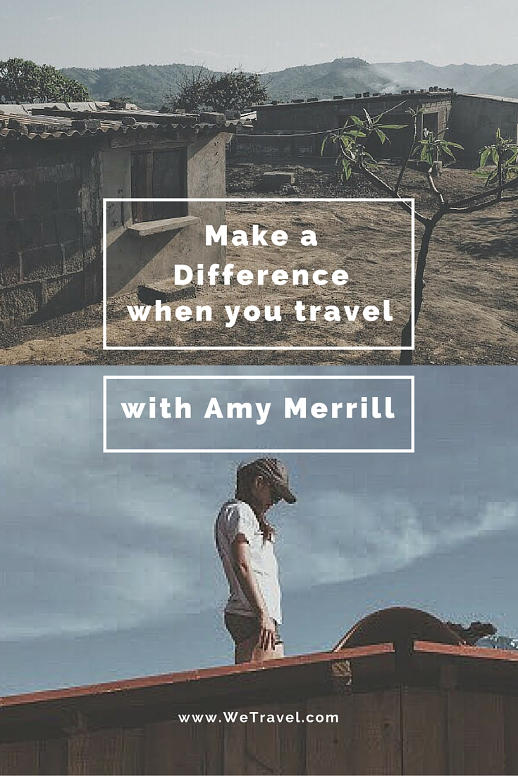Make a Difference when you Travel Pinterest