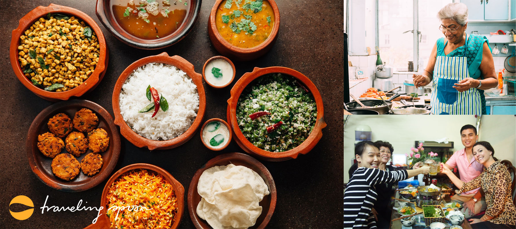 Eat with a local and get a real food experience for your travels. Source