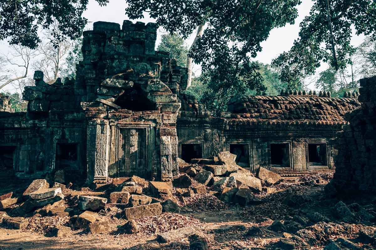 Yoga Destinations by Month - Cambodia