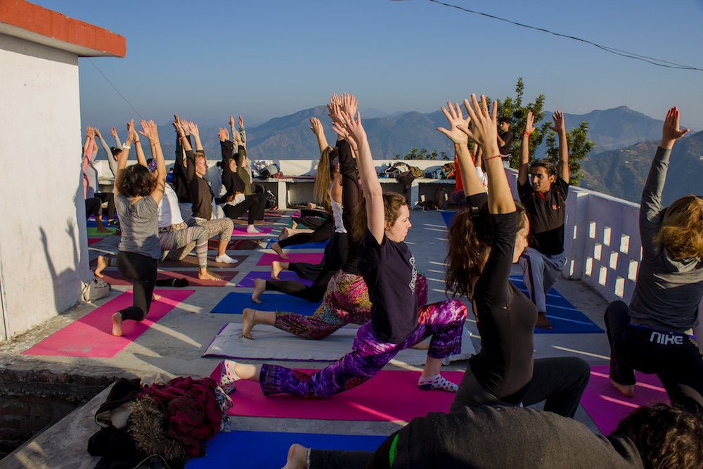 share yoga with others