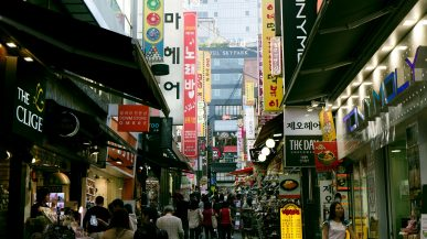 south korea is the best place for group travel